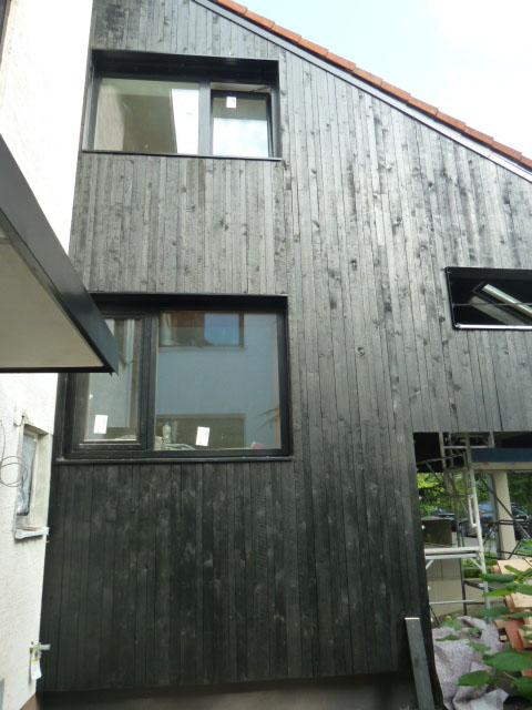 Holzfassade Schwarz fassaden zimmerei bernd schmid